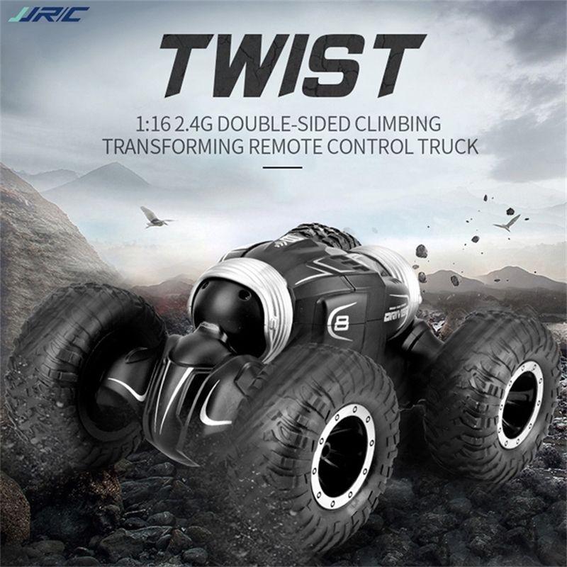 JJR / C Q70 2.4 ГГц 4WD RC Автомобиль Twist - Пустынный грузовик Деформация автомобиля Пульт дистанционного управления Автомобиль A A 201218