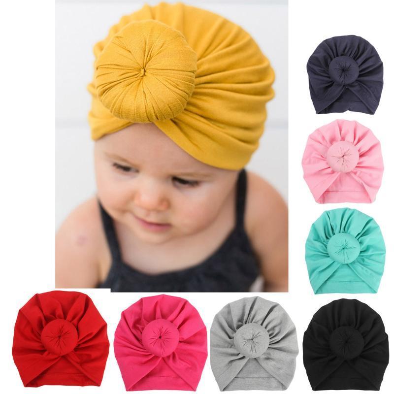 Hut Baby Turban Kleinkind Kinder Jungen Mädchen Indien Hut Hohe Qualität Komfortables modisches Schönes weich