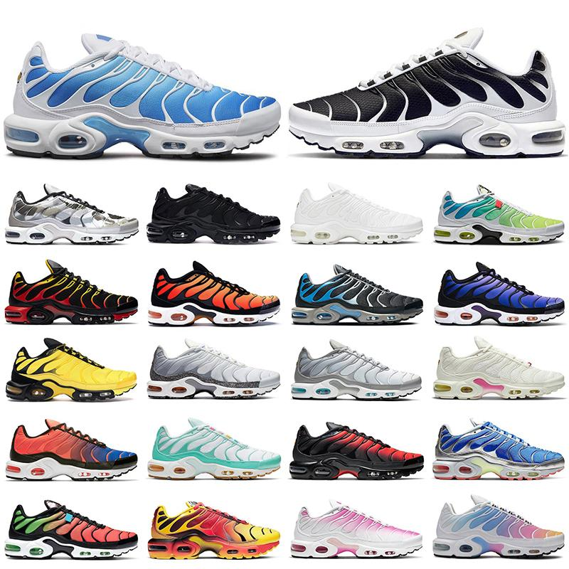 Tn  plus shoes tênis shoes feminino masculino tênis fashion trainers triplo preto branco Hyper Blue Supernova Sail Digital Pink tênis masculino esportivo ao ar livre