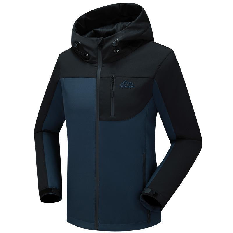 2020 Yeni stil Açık kompozit dağcılık erkekler yumuşak kabuk ceket kriko çalışan Özelleştirilmiş müşteri LOGO erkekler