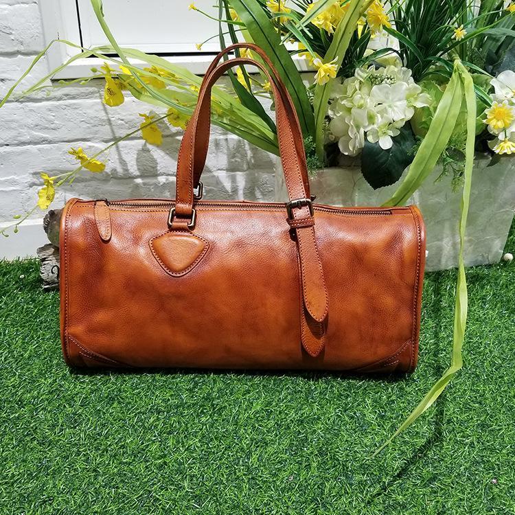 2020 otoño / invierno bolso de color retro nuevo bolso de moda de cuero de cuero de cuero de cuero de cuero de cuero de cuero largo