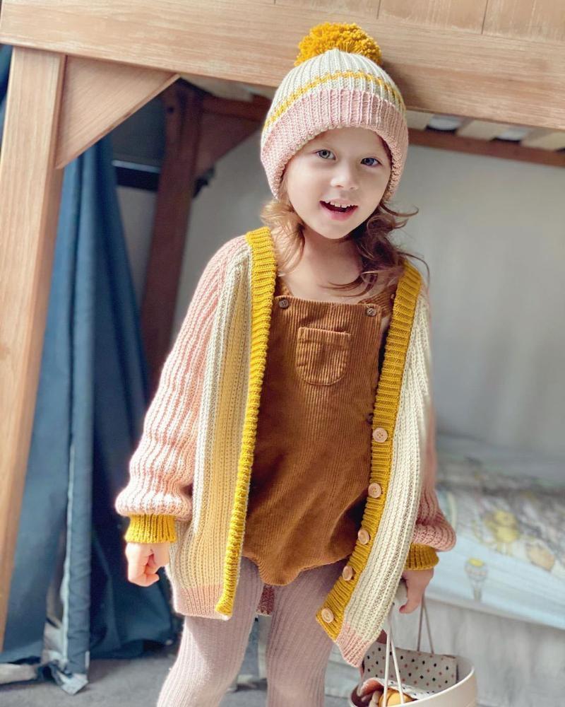 Ins 2021 Nuovo arrivo Bambini Maglione Autunno e inverno Abbigliamento per ragazze a maglia
