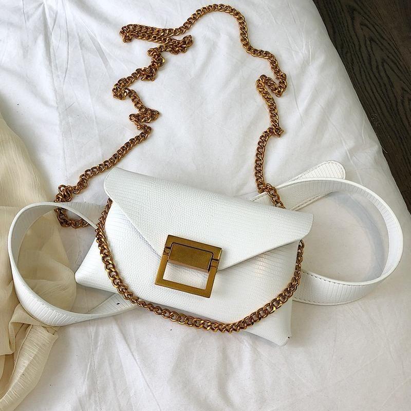 Кожаный мини каменный сумочка сундук сумка для женского посланник 2020 новый PU элегантный дизайнерская сумка узор цепь плеча женские сумки ласки