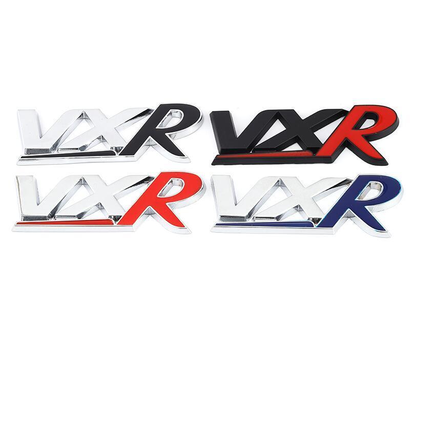 NEW المعادن 3D الأزياء ملصقات السيارات الشواية الجبهة شعار مصبغة شارة لVXR أوبل بويك الجديدة يونيو يو يينغ لانج Kewei تريل اكسسوارات السيارات