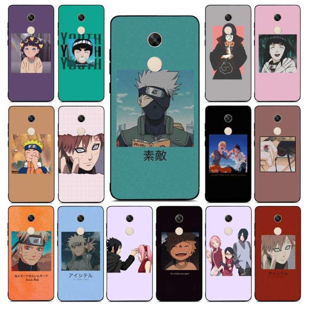 t Animated Naruto Kakashi Mobile Case ist Redmi Anmerkung 4 5 7 8 9 PRO 8T 5A 4X