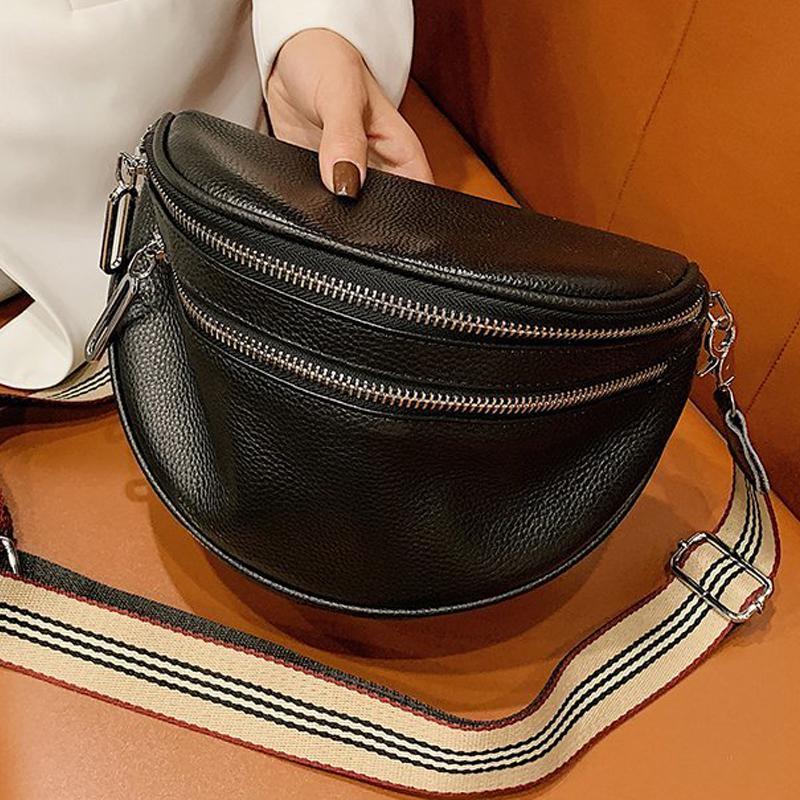 Роскошная модная сумка Многоцелевой коровьей сумочки подлинной новой одному плече дизайнер диагональ кожи сумочки алодв