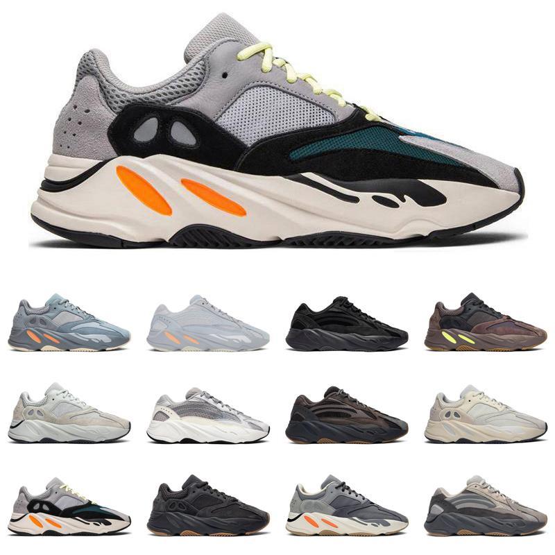 Yeezy Boost 700 V2 Nueva Kanye West V2 Azael Alvah 700 Magnet Hospital estático Wave Runner Running Shoes 500 Negro Bone Oreo Asriel deporte zapatilla de deporte