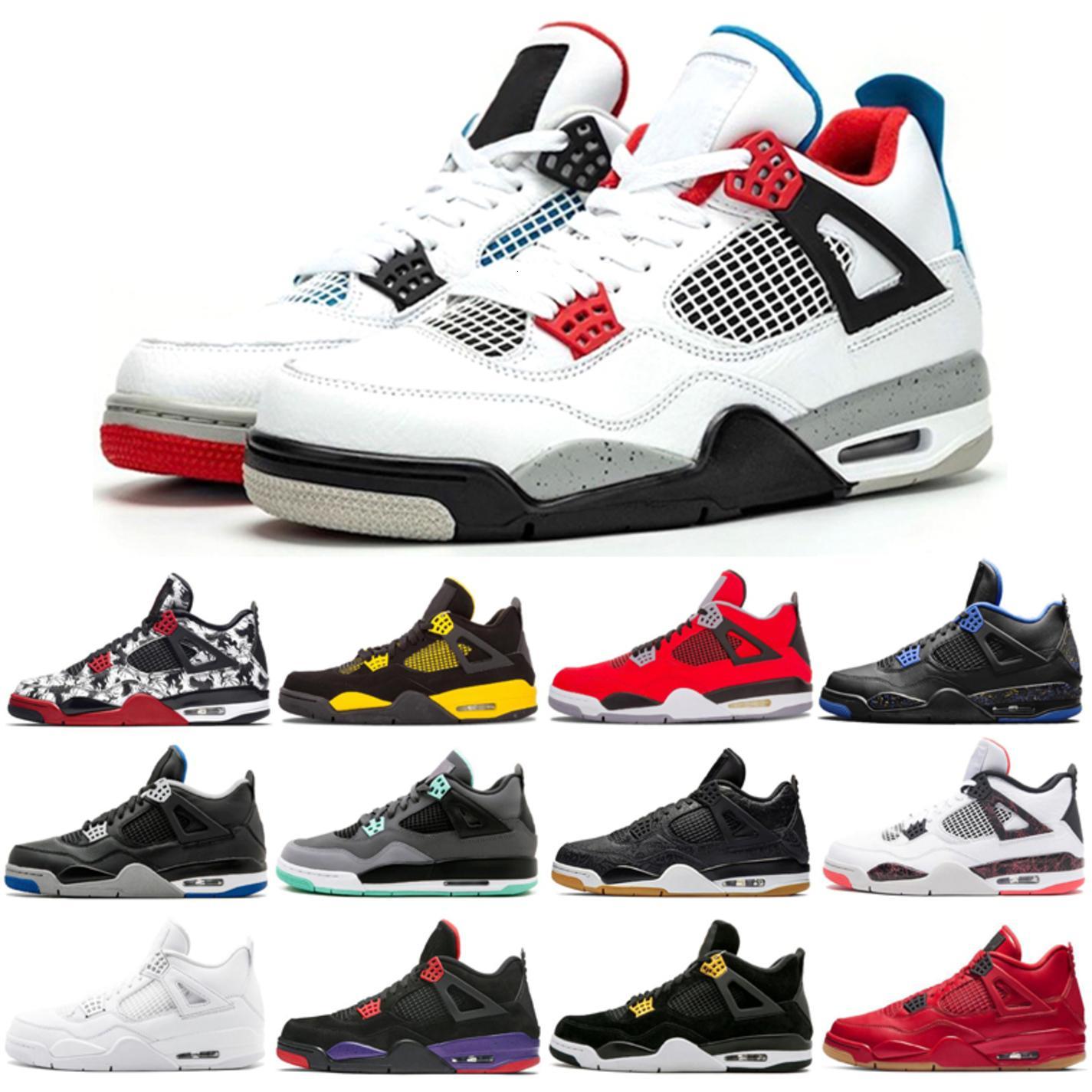 4s мужские баскетбольные ботинки альтернативный моторспорт 4 чистых дег-н-роялти красный роялти-крылья ир красные синглы дневные тренажеры спортивные кроссовки