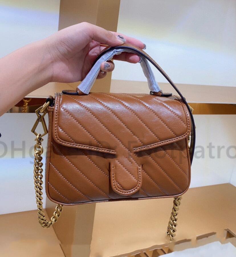 2021 Hot Designers Luxurys Classics Crossbody Сумки для женщин Любовь плечевой сумочка Сцепления Tote Lady Marmont Bags Buashs Chems Chirl Shopping Tote