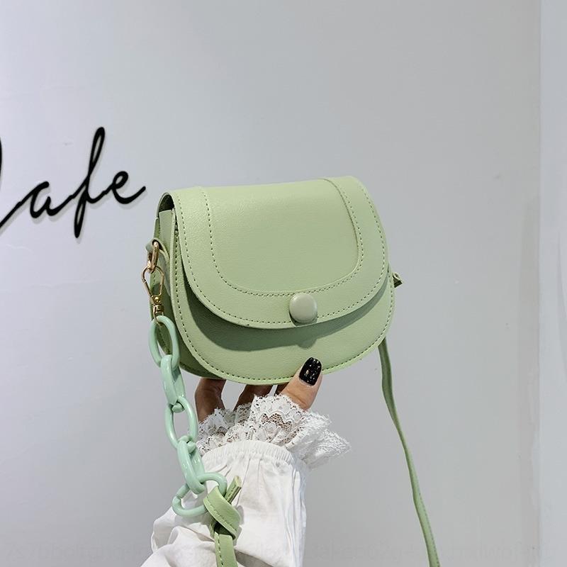 molla delle donne / estate pantaloni a vita bassa 2020 nuovo stile coreano spalla sella bagsimple stile occidentale di modo del sacchetto della sella mini tracolla Messenger Bag A