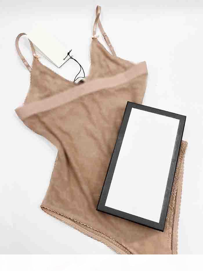 20SS Italiano Bikini Primavera Estate Nuovo Sleepwear Jacquard Doppia Lettere Stampa Donna Costume da bagno Tops Bikini di alta qualità Rainbow