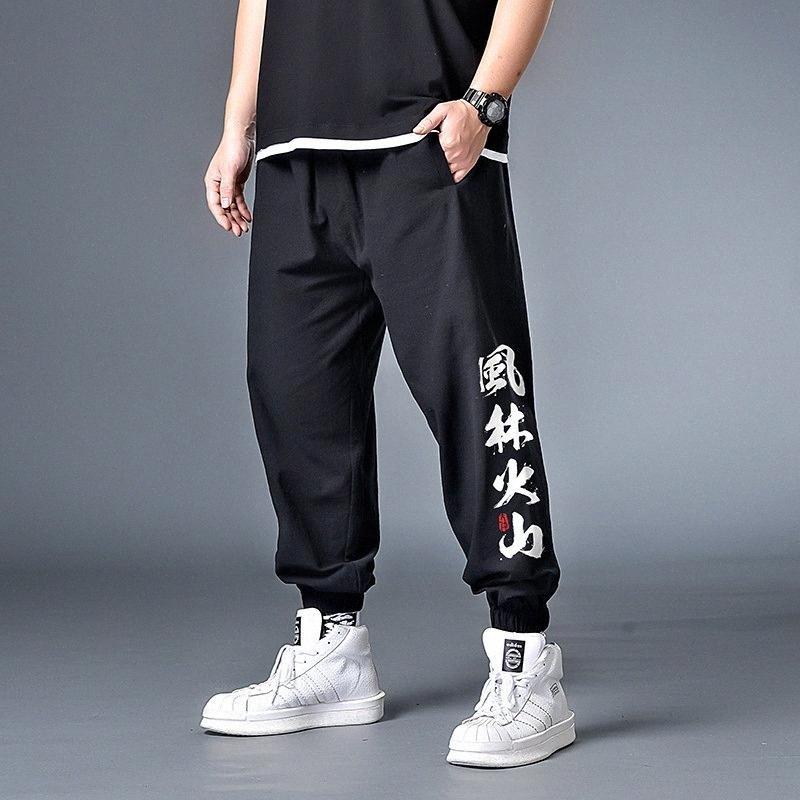 7XL 6XL 5XL XXXXL Männer Hip Hop Jogger Hosen Cargohose Herren Schwarz loser Sweat Männer Street Overall Punk Harem FpMj #