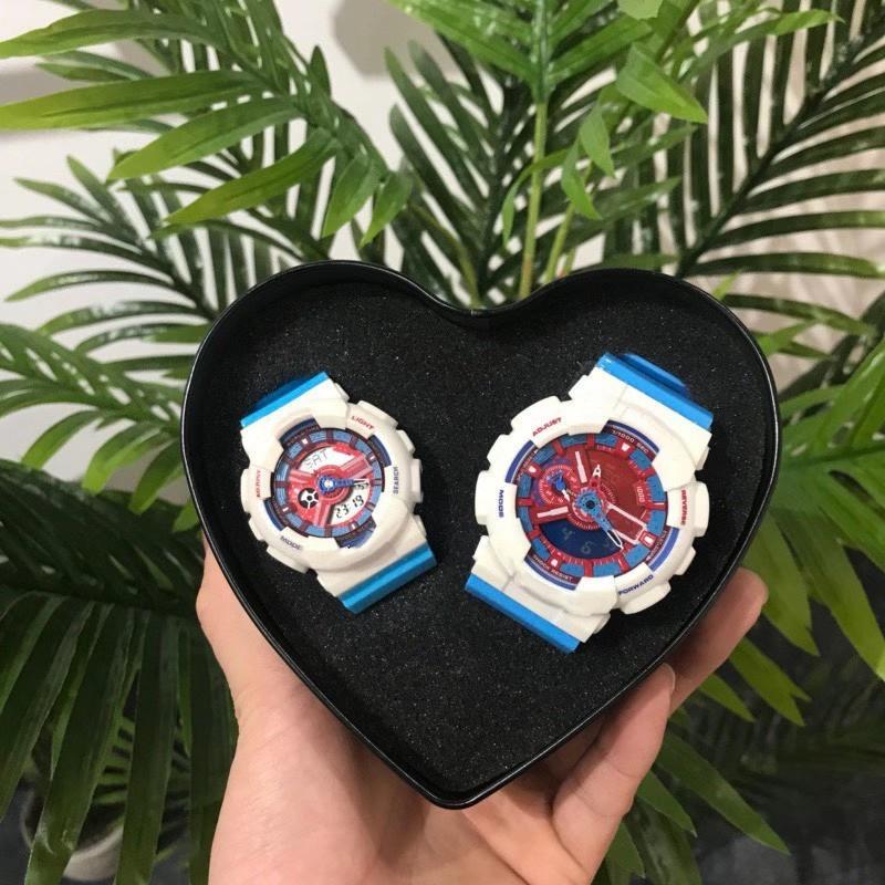 2021 классический японский модный бренд GB многофункциональный водонепроницаемый и ударопрочный ручной лампы мужские и женские пары спортивные часы