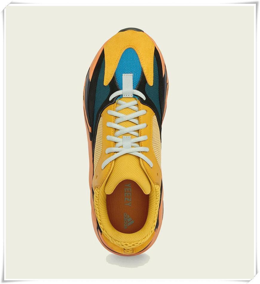 Chaussures de sport pour femmes 2021 Kanye West Sun Yecoraitite Ash-Stone Cendois Bleu Argile Reflective Casual Casual Baskets Pas Cher Sneakers Grass Vert Chaussure Taille 36-48