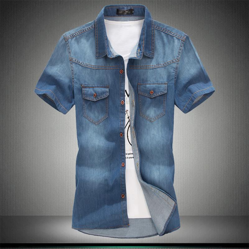 2020 5xl más tamaño 6xl 7xl de alta calidad 8xl algodón algodón manga corta estilo hombre estilo moda camisa yyho