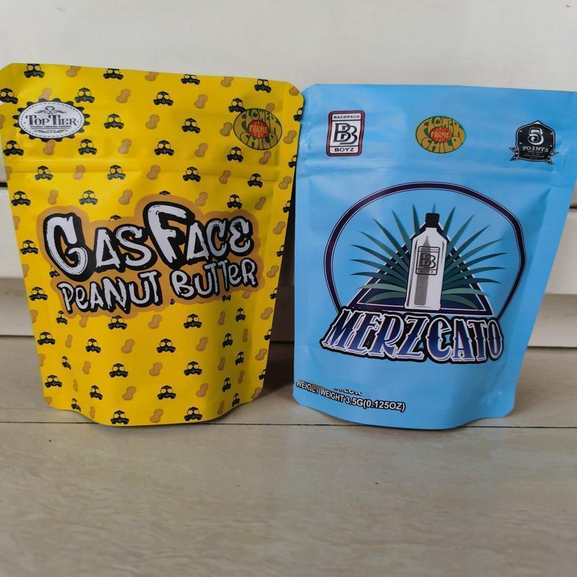 Merzcato Kindergesicherte Taschen 3.5-7g Mylar Taschen Lokale Leere Beutel Edibles Verpackung wmtOUc yyysports