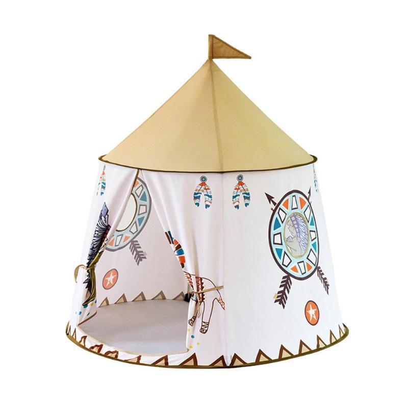 Çocuklar Oyuncak Çal Çadır Ev Karikatür Tavuk asın Bayrak Bebek Çadır Ev prenses kale Çocuklar Var oğlan kız oyun Çadır 1020