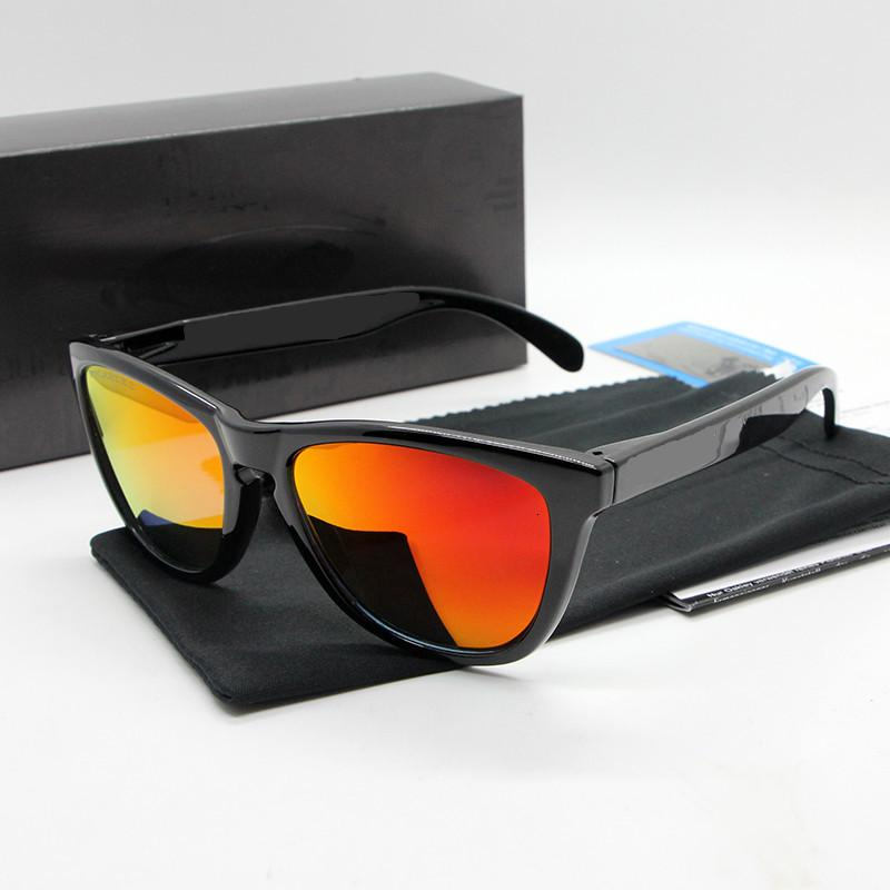 Gafas de sol 9 Eyewear Hombres Colores Marca UV400 Cylcing Polarized y TR90 Mujer Marco GXREP Glasses Isseg
