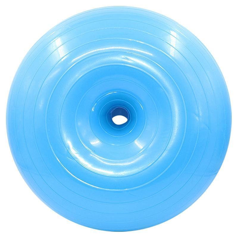 Фитнес шарики надувные пончик шарик с трубкой Гибкая сиденья мебели для сидения подходит для тренажерного зала или дома