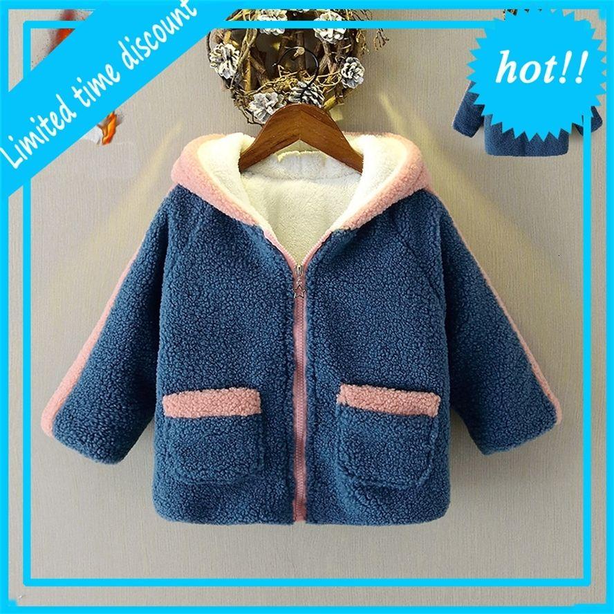 FAT BERBER FLEECE выше одетых детей с капюшоном Jas Rits kingets для девочек детская зимняя одежда