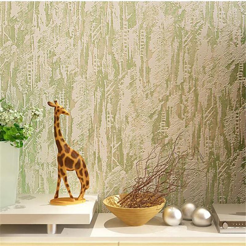 WELLYU La nuova pianura wallpaper screziata non tessuta a colori solido semplice soggiorno moderno soggiorno TV sfondo sfondi papel de parede