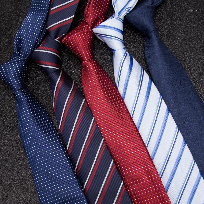 Hommes Tie Cravate Cravates d'affaires pour Hommes Skinny Cravaty Crêche Mens Mode Mariage Chemise Chemise Jacquard Bowtie Robe Corbatas Para Hombre1