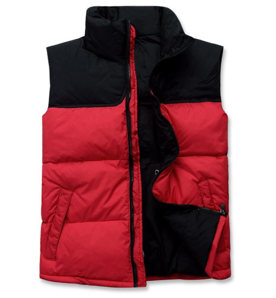 새로운 두꺼워 지퍼 코트 아래로 겨울 의류 남성 다운 재킷 조끼 파카 오리 따뜻한 야외 아우터 후드에게 스키 재킷을 유지