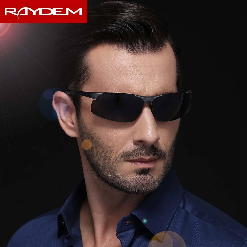 Raydem Oculos Gläser HD UV400 Aluminium Eyewear Magnesium Männliche Männer Sonnenbrille Marke Polarisierte Sonne für Männer HNDVH
