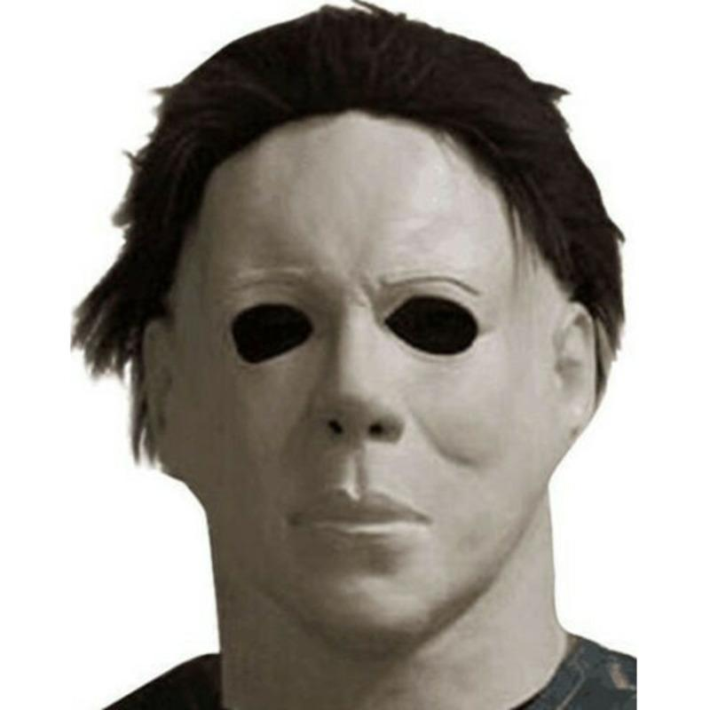 Michael Myers Maschera 1978 Festa di Halloween Horror testa piena adulto di formato LaTeX Mask Fancy Props Divertimento Strumenti Y200103