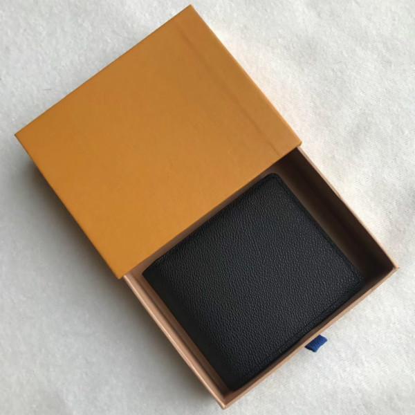 2020 NEUE L BAG Freies Verschiffen Kostenloser Versand Billfold Hohe Qualität Plaid Muster Frauen Brieftasche Männer püre High-End CXVGHF L Brieftasche mit Box888
