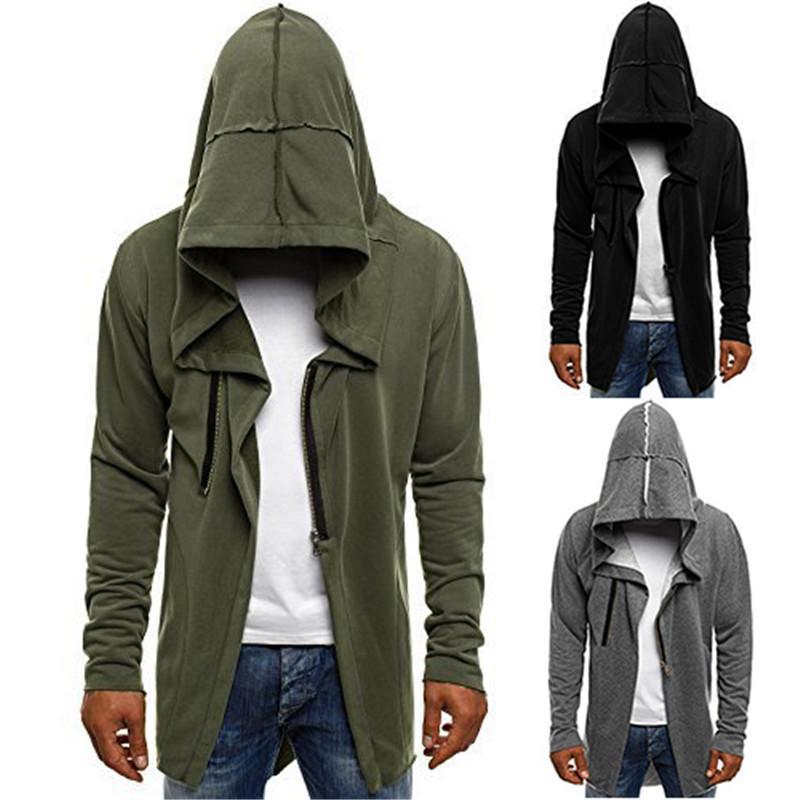 2021 Autumn Winter Slim Mens Hoodies Long Sleeve Hooded Sweatshirts Designer Male Loose Casual Fleece Sweatshirts