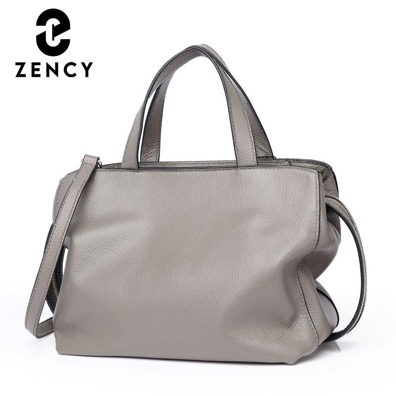 ZENCY 2021 Новый стиль Натуральные Кожаные Сумки Мода Элегантная Женская Сумка Леди Классический Посланник Сумка Crossbody Для Женщин C0121