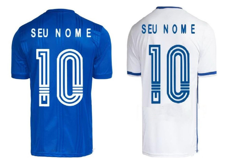 Customized 20-21 Cruzeiro zu Hause DE Arrascaeta # 10 Thai Qualität Fußballjerseys M. Moreno # 9 Rafinha # 7 HENRIQUE # 8 DODO # 18 FRED # 9 lokale Abnutzung