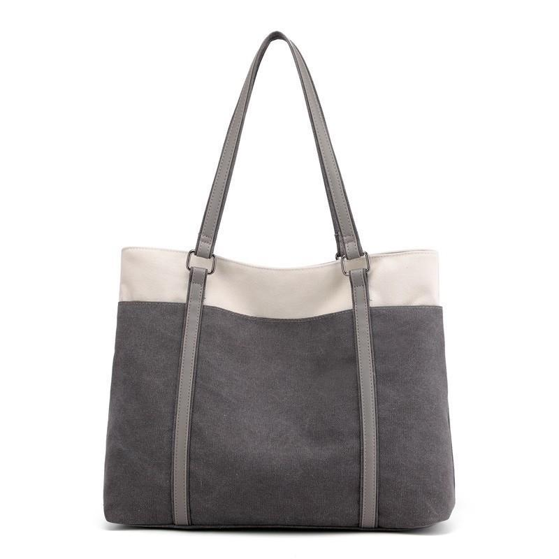 Bolsos de hombro bolsos de la lona de las mujeres ocasionales retras bolsas monederos Torebki DAMSKIE moda bolsa de mensajero individual Borse Da Donna