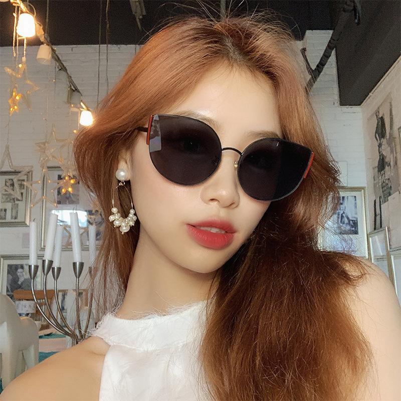 Óculos de sol vintage mulher polarizada óculos vintage óculos retrô óculos olho uv400 óculos mulheres marca condução gato sol tucmi