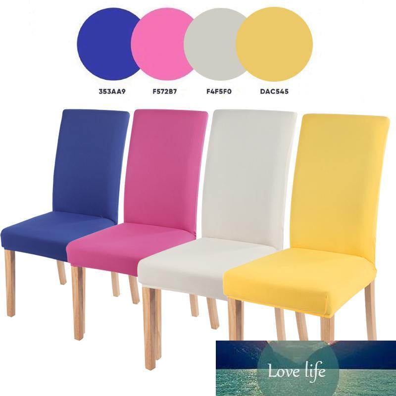 Cadeira cobre cadeira de assento de mesa spandex abrange slipcovers de assento protetor para hotel banquete casamento universal tamanho