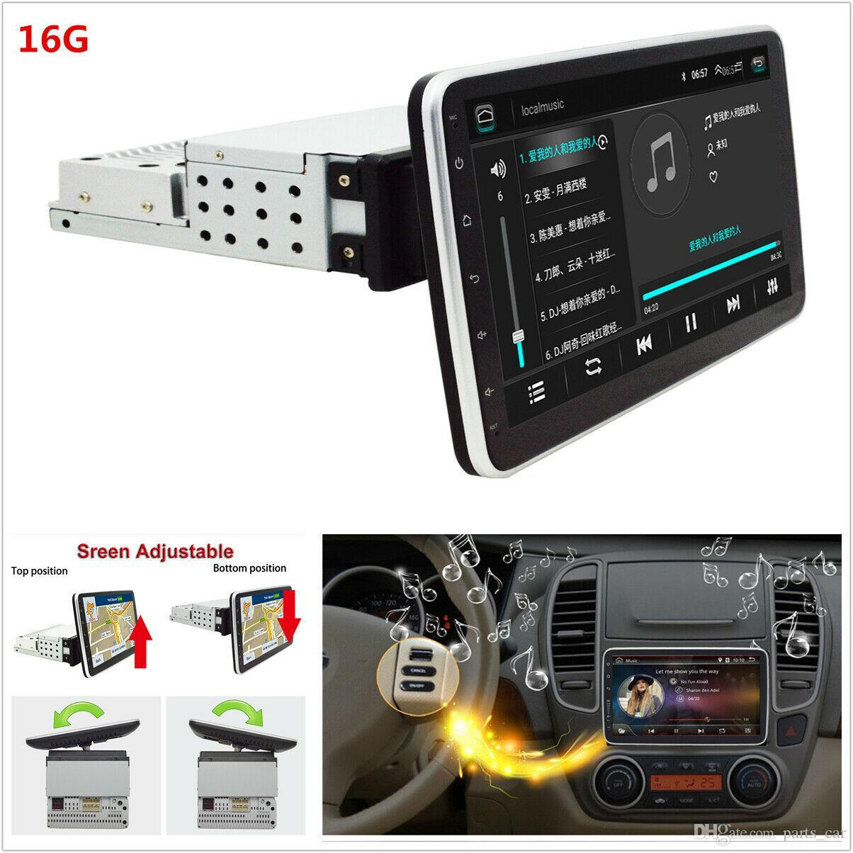 Android 9,0 1DIN Quad Core 10.1in auto Bluetooth HD Multimedia Player GPS WIFI