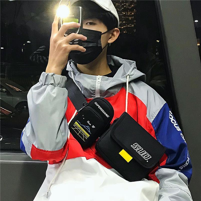 Waist Bag For Men Fashion Waist Pack Purse Phone Belt Bag Travel Chest Case For Mobile Phone Bum Hip Shoulder Multifunction
