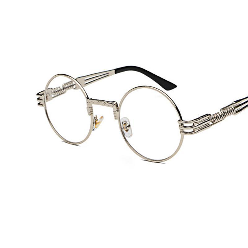 2020 gafas mujeres redondo de lujo moda gafas sol gafas de sol vintage punk anteojos lentes primavera sol eeqqq