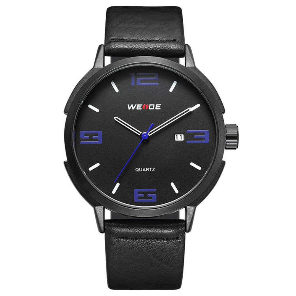Moda de moda Aleación Weide Watch Watch Hombres y mujeres Estudiantes Pareja Cinturón de ocio Reloj