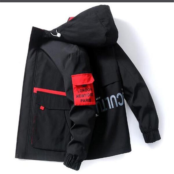 Giacca da uomo primavera e autunno nuova giacca da uomo con cappuccio Trendy da baseball uniforme alla moda giacca di marca studente moda moda casual con cappuccio tuta sportiva cappotti