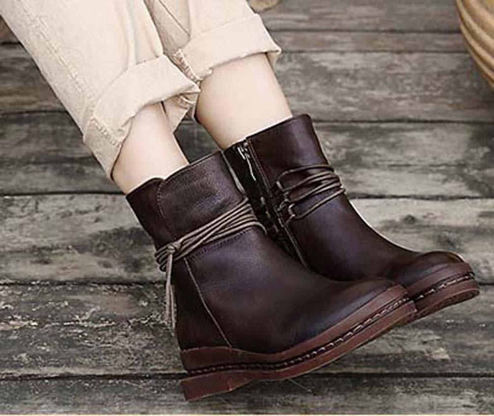 Classics elegante e requintado Womens botas saltos altos e couro genuíno botas Ar Livre moda 03 P762