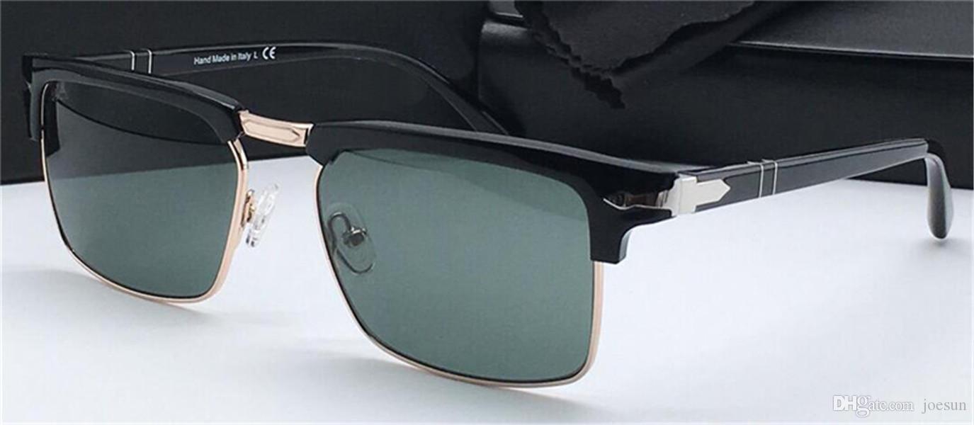 estilo de moda simples óculos de sol retro quadrados de design meia UNISEX exterior proteção UV óculos PE3102 designer óculos