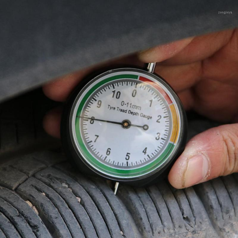 Herramientas de reparación de neumáticos Kit de reparación de neumáticos Portátil Acero inoxidable Presión de neumático Pisie de pisadura Profundidad indicador de puntero ACCESORIETE
