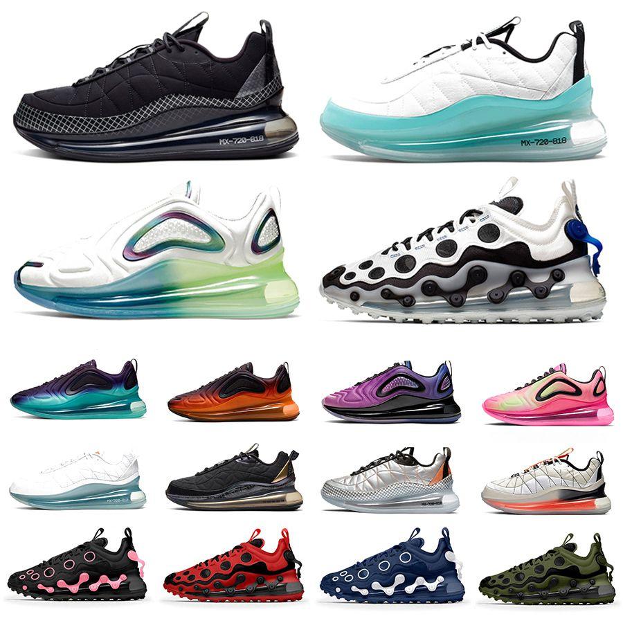 72C ISPA 72C-818 Мужчины женщины кроссовки для женщин Black Magma Summit White Bubble Pack 72Cs Trainers мужские спортивные кроссовки Chaussures Zapatos Scarpe