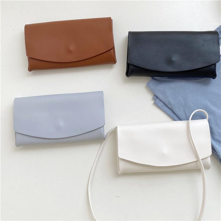 HBP summer new bag women's bag simple solid color shoulder diagonal bag small fresh and shoulder