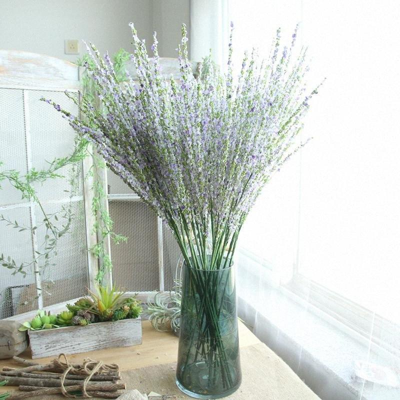 Fleur artificielle de longue tige arc Primrose mariage maison Décoration murale Bouquet nuptiale de fête d'anniversaire jardin Décor eQhV #