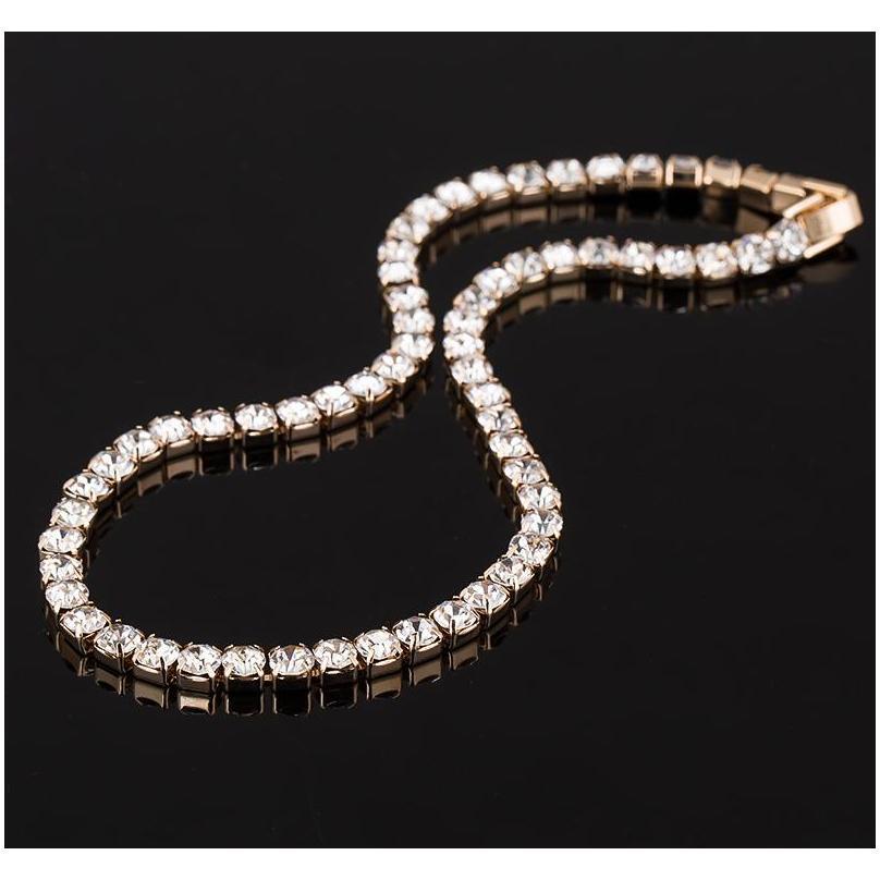 حار بيع جديد إمرأة كريستال حجر الراين طوق قلادة قلادة لفتاة الزفاف مجوهرات عيد ميلاد sqcwbj new_dhbest