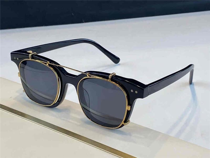 Южная сторона Новые солнцезащитные очки для мужчин и женщин с ультрафиолетовой защитой Унисекс модели Овальная форма с верхним листовым каркасом высочайшего качества бесплатно с пакетом