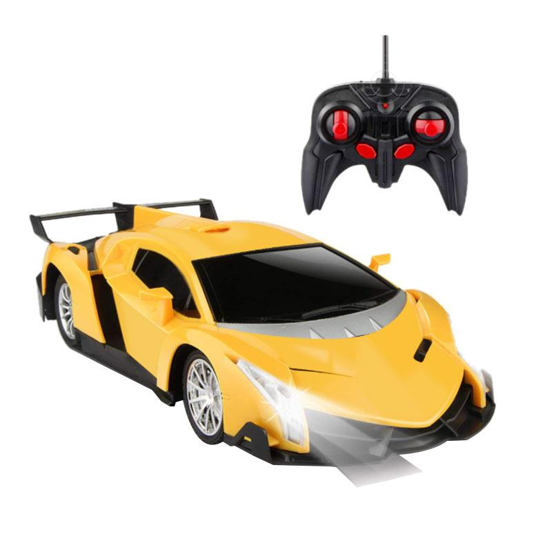 L'automobile di telecomando, RC Auto da regalo Bambini 01:20 elettrico Sport Racing Hobby Toy Car Giallo modello di veicolo per Ragazzi Ragazze adulti w